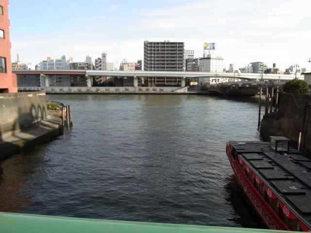神田川と隅田川の邂逅