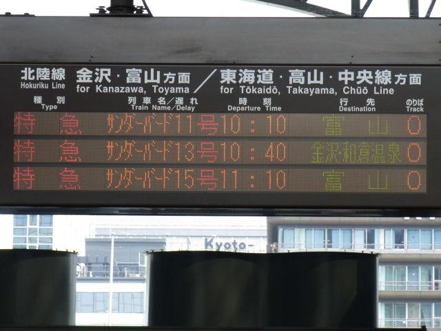 京都駅0番線ホーム