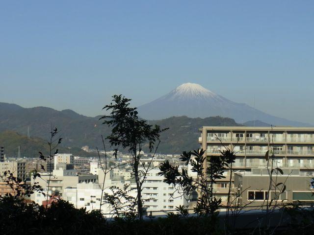9階から見た富士山