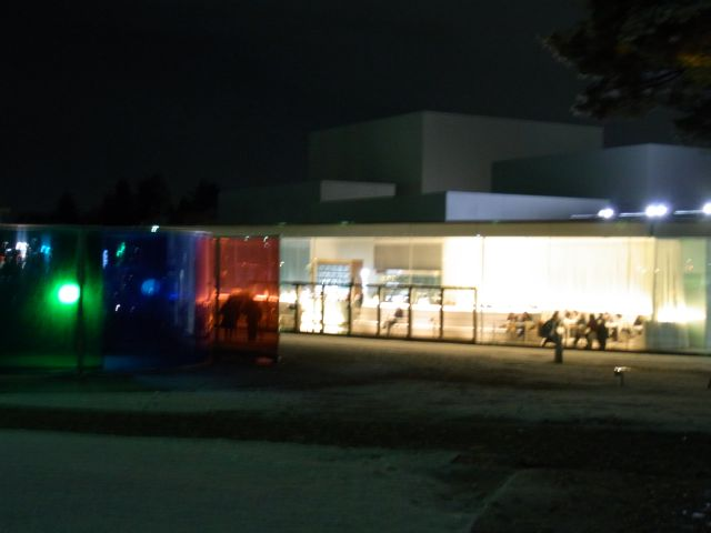 夜の21世紀美術館