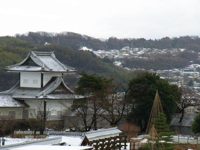 金沢城公園からの眺望