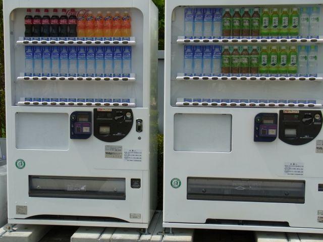 コミケ仕様な自販機
