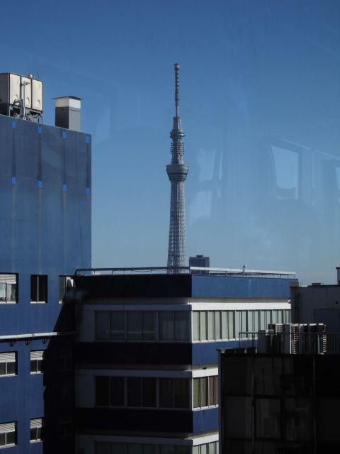 書泉ブックタワー9Fからの景色